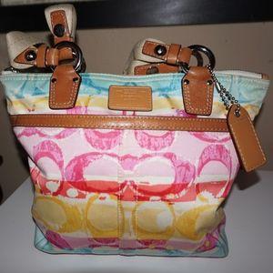 Coach Hamptons Watercolor Handbag